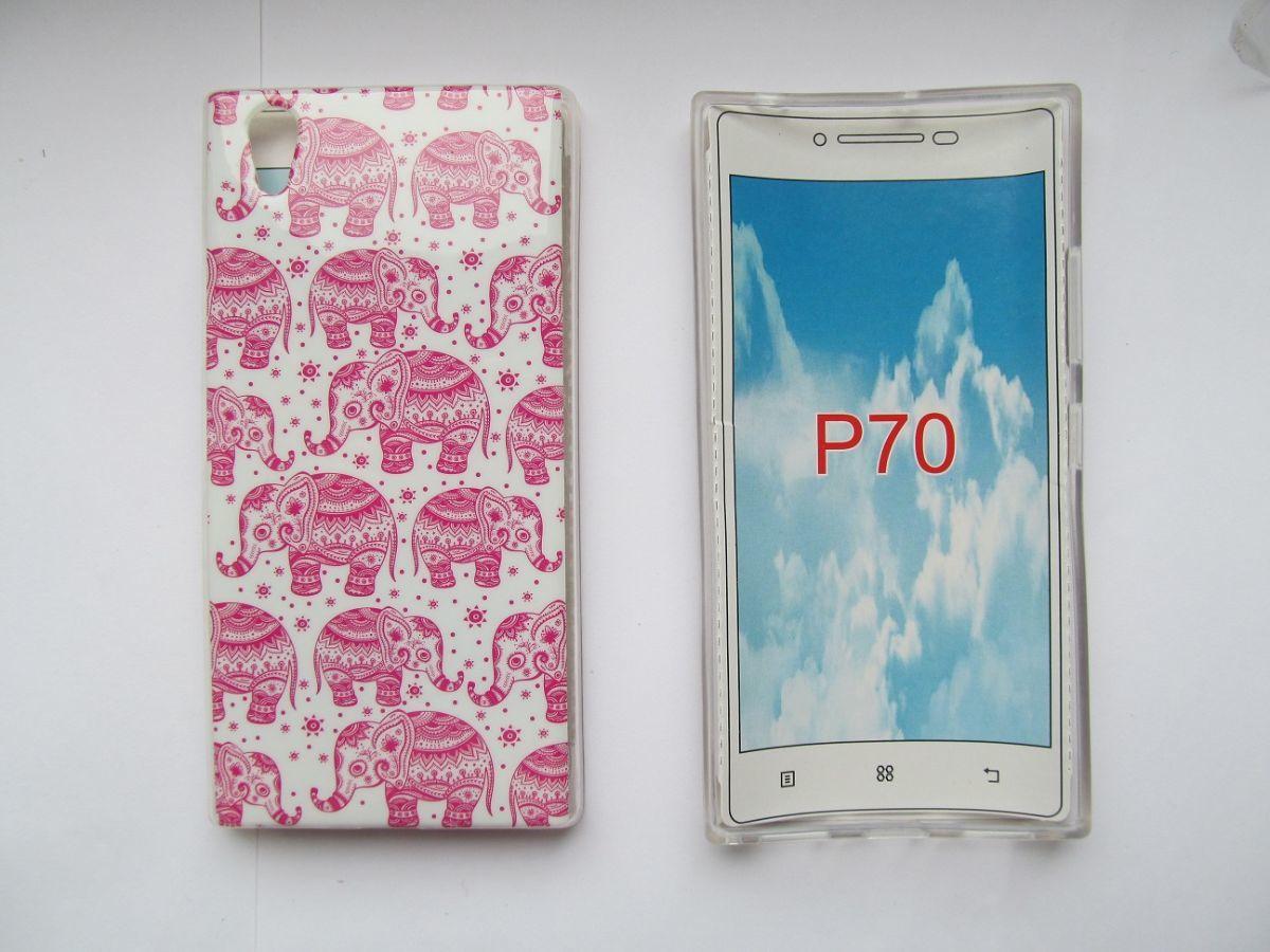 Фото 2 - Чехол для Lenovo P70 силиконовый