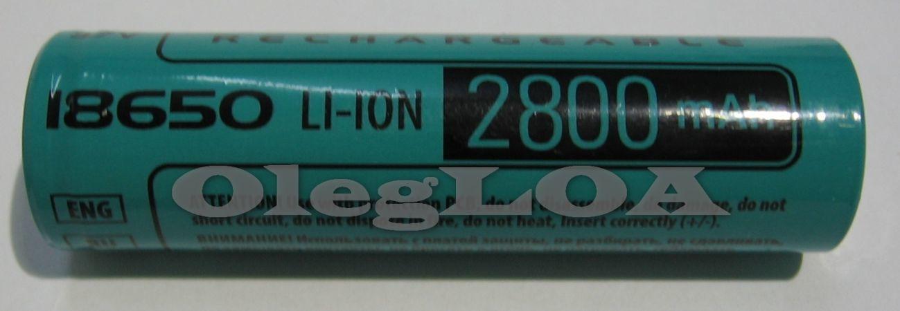 Фото 3 - Аккумуляторы литиевые Li-ion 18650 Videx 2800mah реальная емкость!