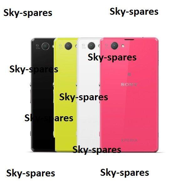 Фото - Задняя крышка Sony Xperia Z1 Compact белая