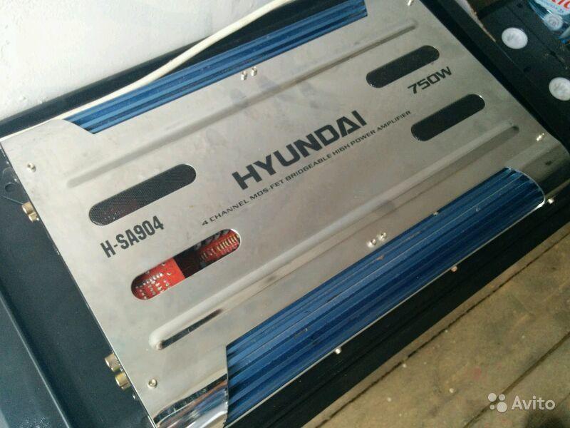 Фото 2 - Hyundai H-SA904 - 4-канальный усилитель