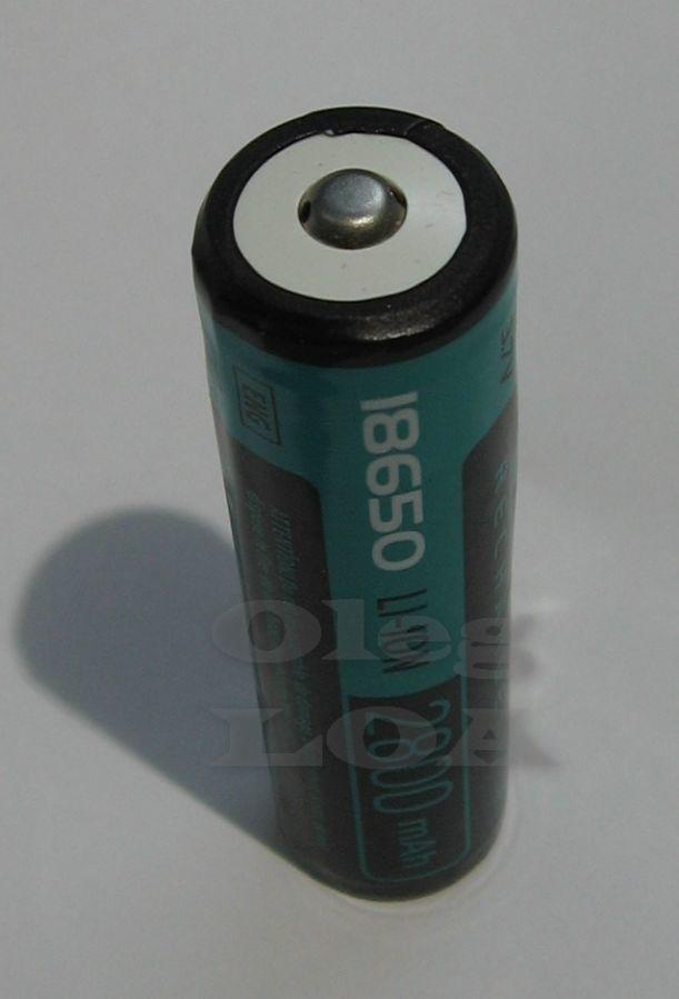 Фото 3 - Аккумуляторы Li-ion 18650 Videx 2800mah (реальных) с защитой