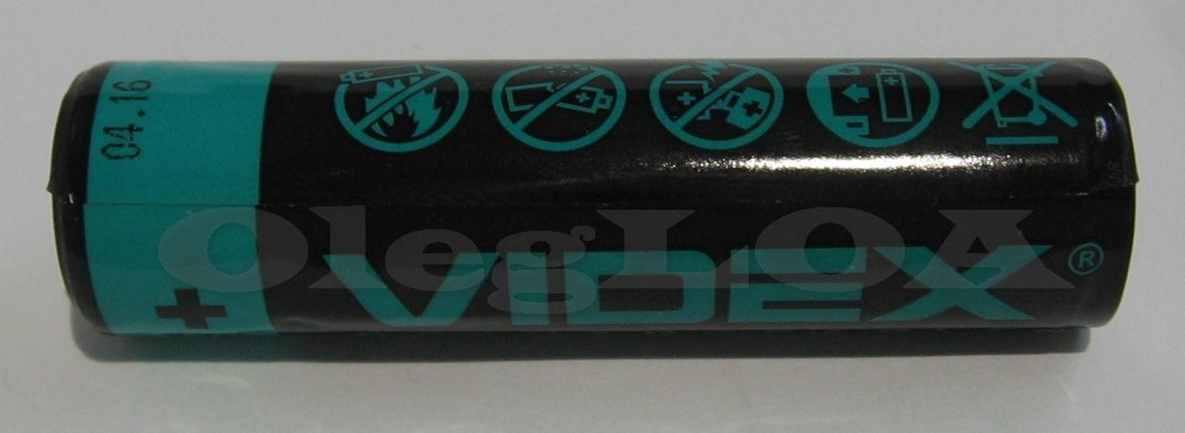 Фото 4 - Аккумуляторы Li-ion 18650 Videx 2800mah (реальных) с защитой