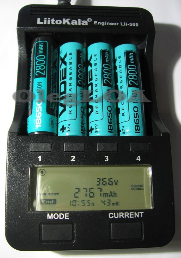 Фото 5 - Аккумуляторы Li-ion 18650 Videx 2800mah (реальных) с защитой