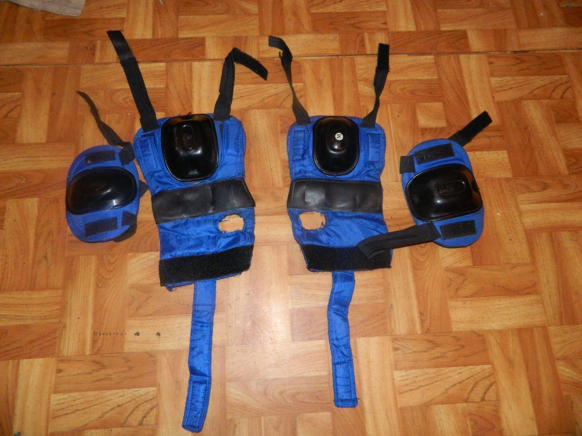 Фото - Наколенники и налокотники для скейта или коньков