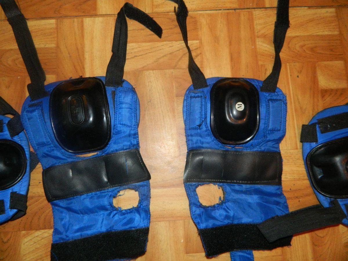 Фото 2 - Наколенники и налокотники для скейта или коньков