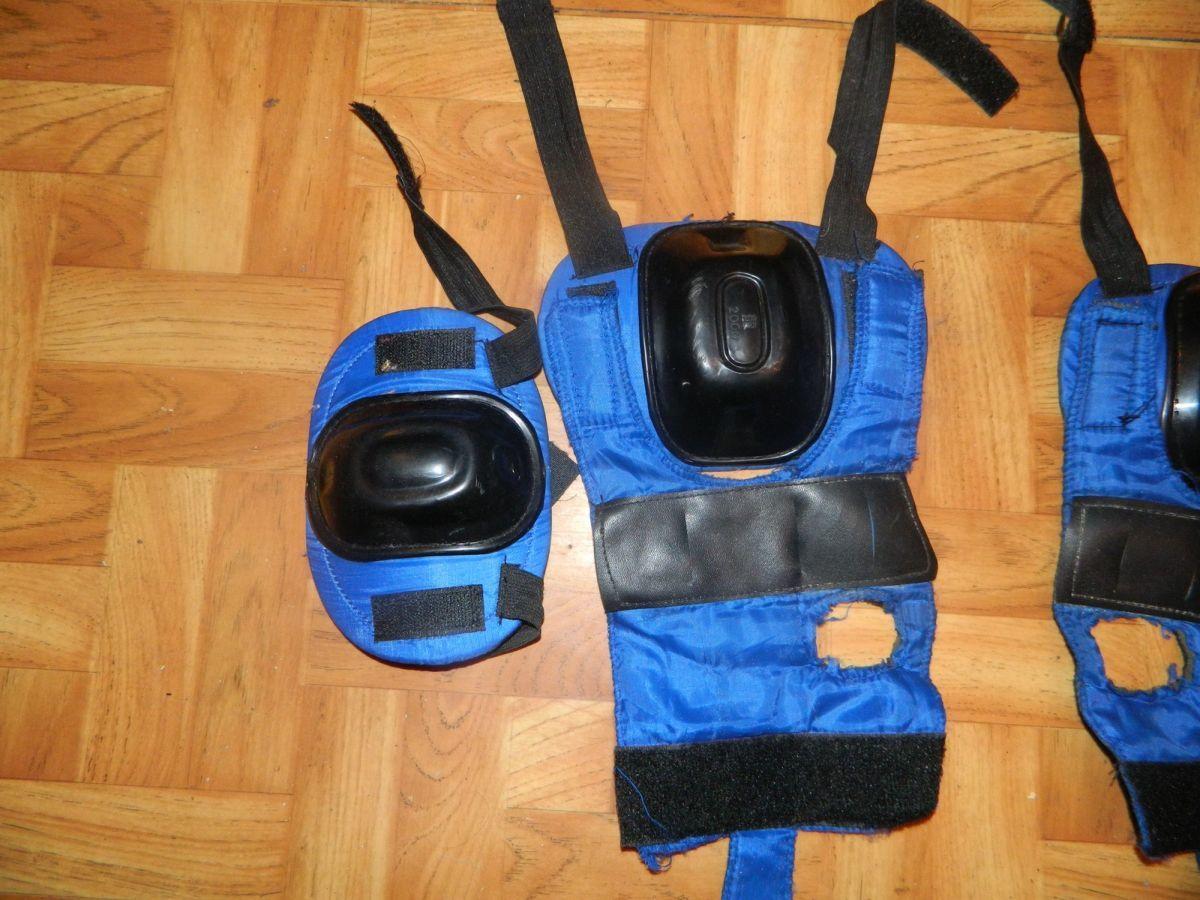 Фото 3 - Наколенники и налокотники для скейта или коньков