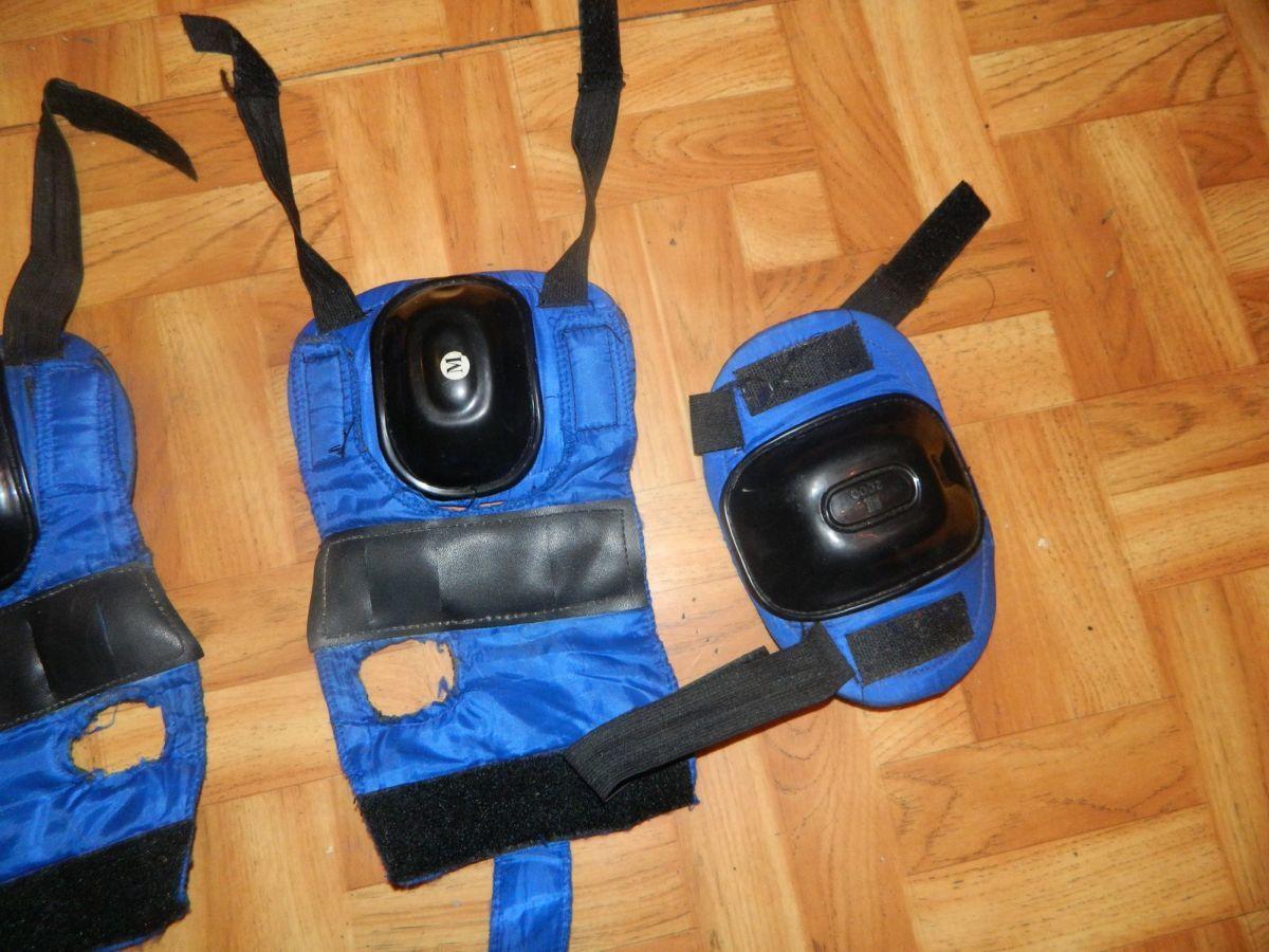 Фото 4 - Наколенники и налокотники для скейта или коньков