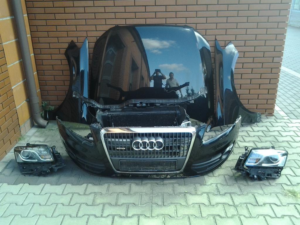 Фото - Audi Q5 Разборка Фара Капот Крыло Дверь Бампер передний Решетка