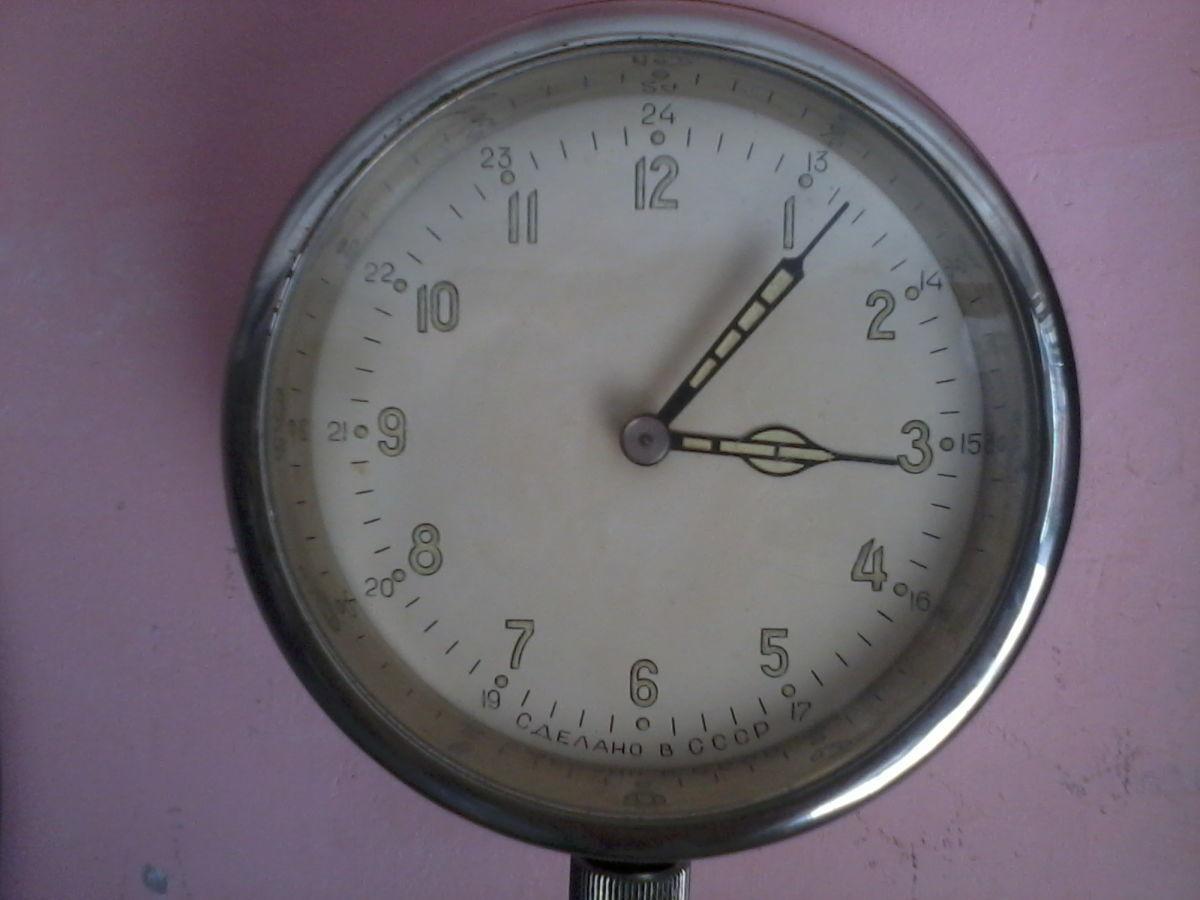 Фото - часы каютные морские