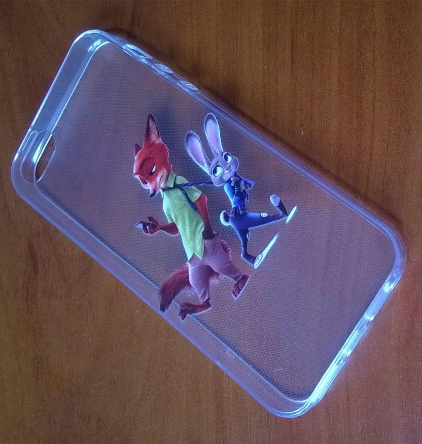 Фото 3 - Силиконовый чехол для Iphone 5