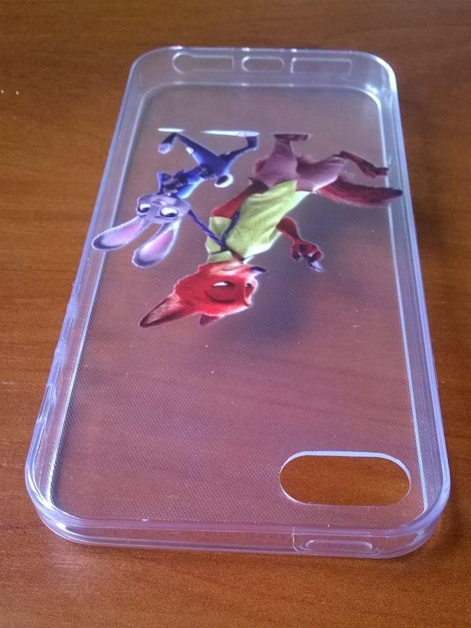 Фото 6 - Силиконовый чехол для Iphone 5