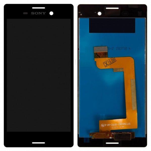 Фото - Sony E2303 Xperia M4 Aqua LTE модуль дисплей с тачскрином черный