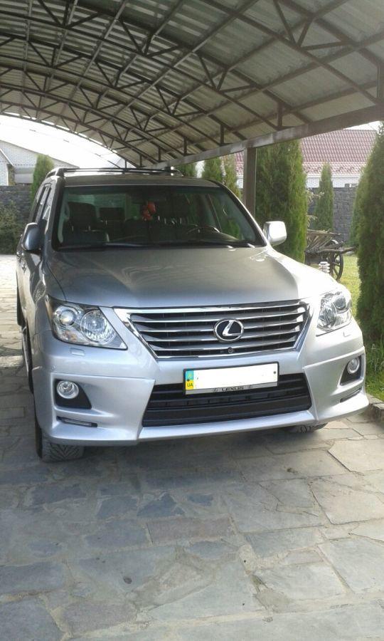 Фото - Обвес Lexus LX 570  Luxury Sport