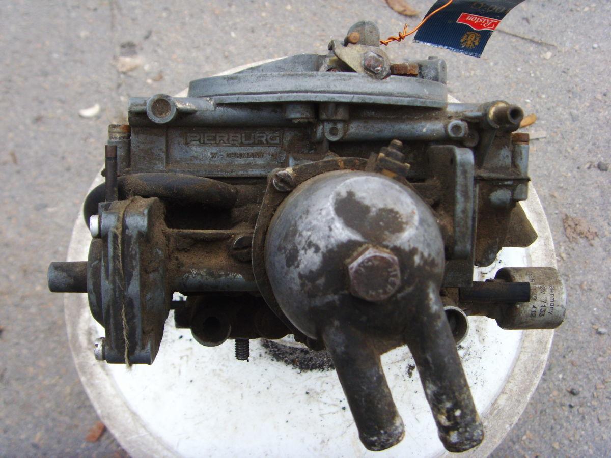 Фото 2 - На Audi 100 (90) до 84 г.в. карбюратор PIERBURG Б/У на 5ти цилиндровы