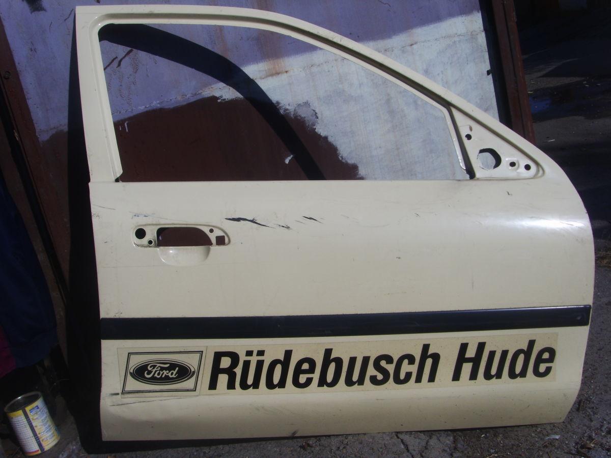 Фото 2 - На Ford Scorpio с 95 г.в. правая передняя дверь голая отличная Б/У