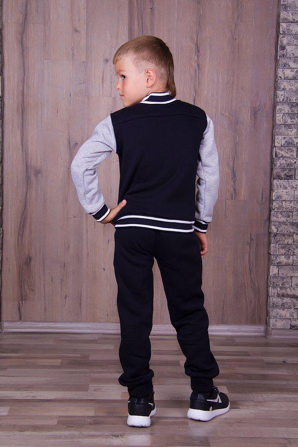 Фото 10 - Теплый с начесом спортивный костюм на мальчика, есть все размеры!