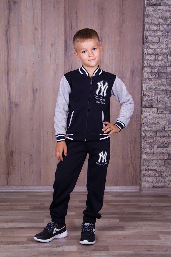 Фото 9 - Теплый с начесом спортивный костюм на мальчика, есть все размеры!