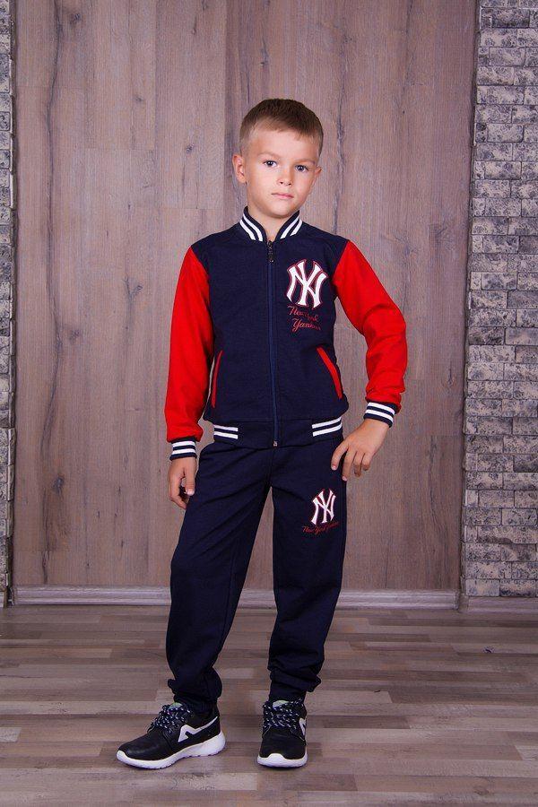 Фото 8 - Теплый с начесом спортивный костюм на мальчика, есть все размеры!