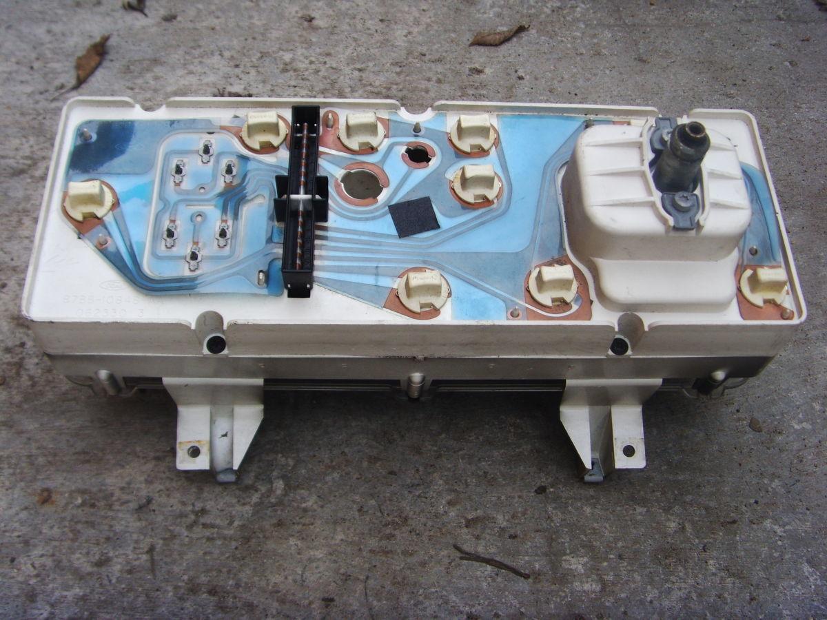 Фото 3 - Ford Sierra щиток приборов (приборная панель) На бензиновую и дизель