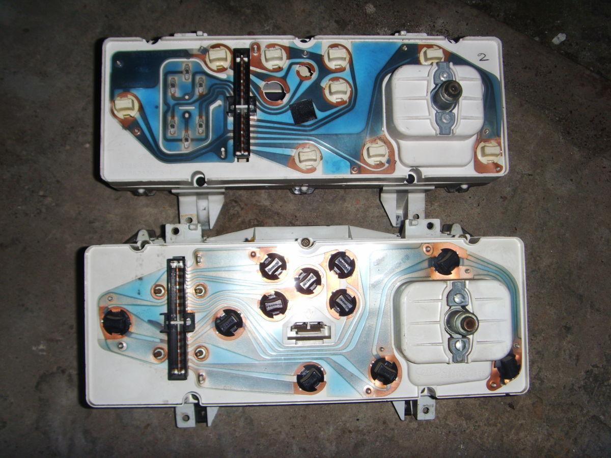 Фото 7 - Ford Sierra щиток приборов (приборная панель) На бензиновую и дизель