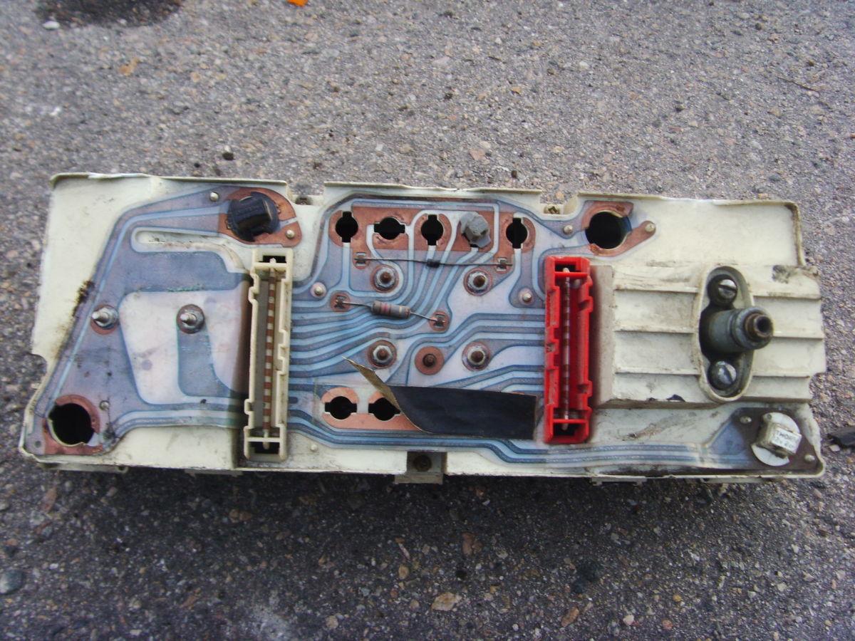 Фото 6 - Ford Sierra щиток приборов (приборная панель) На бензиновую и дизель