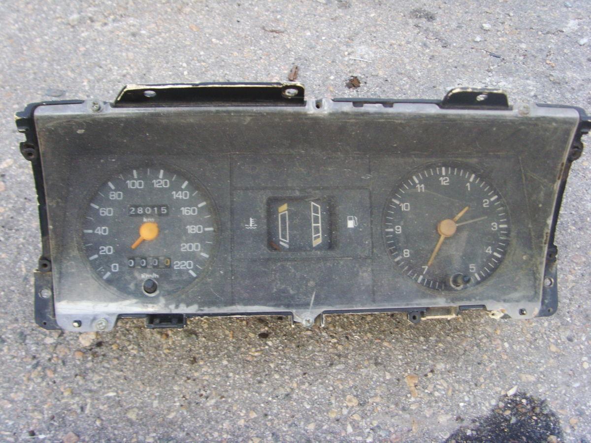 Фото 4 - Ford Sierra щиток приборов (приборная панель) На бензиновую и дизель