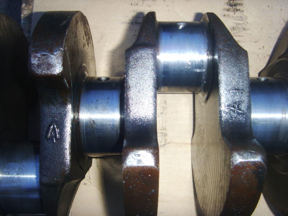 Фото 5 - Ford/Peugeot 2.3-2.5D (XD2, XD2S, XD3, XD3P Diesel) Коленвал рабочий.