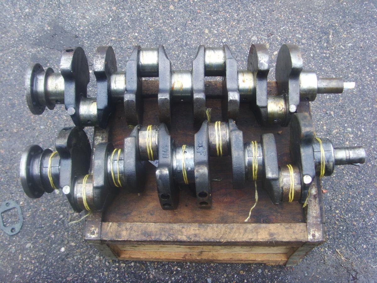 Фото - Ford/Peugeot 2.3-2.5D (XD2, XD2S, XD3, XD3P Diesel) Коленвал рабочий.