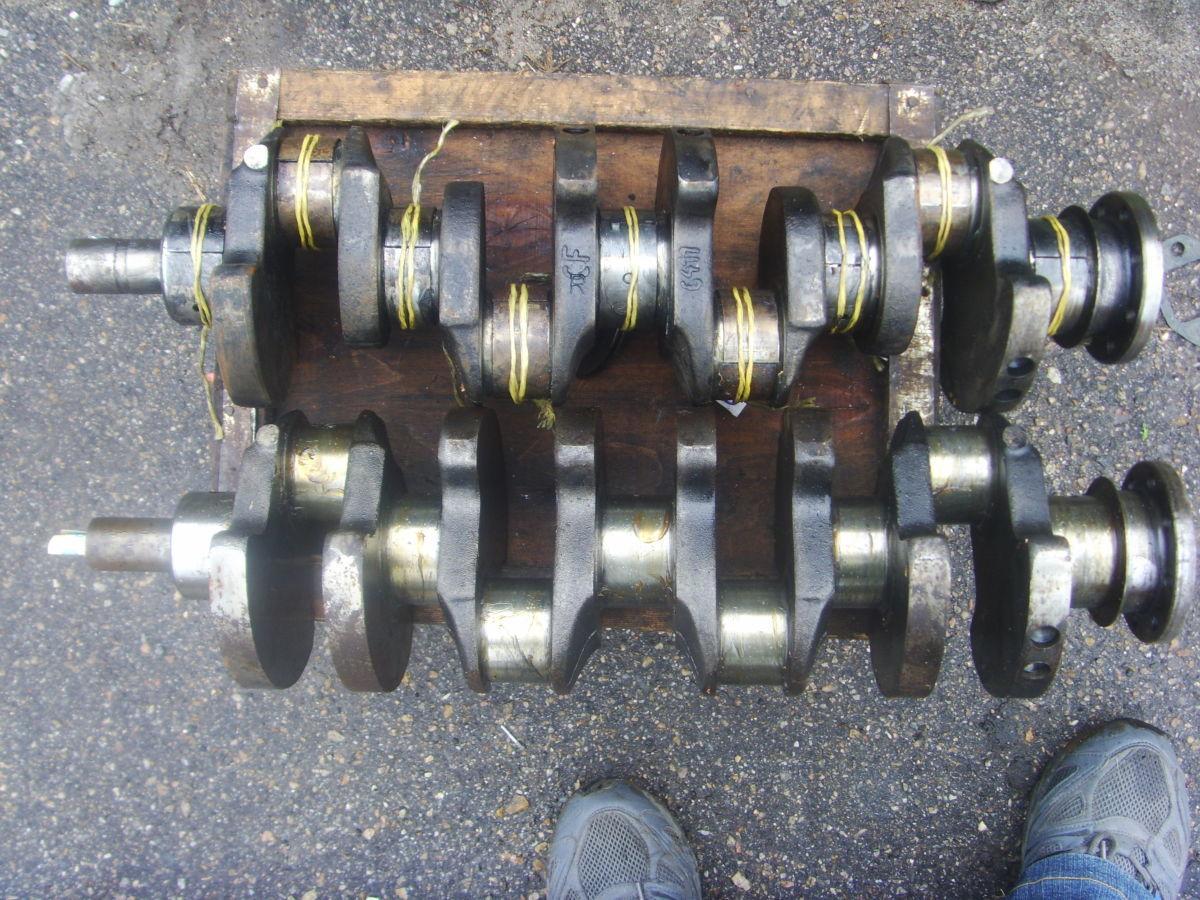 Фото 7 - Ford/Peugeot 2.3-2.5D (XD2, XD2S, XD3, XD3P Diesel) Коленвал рабочий.