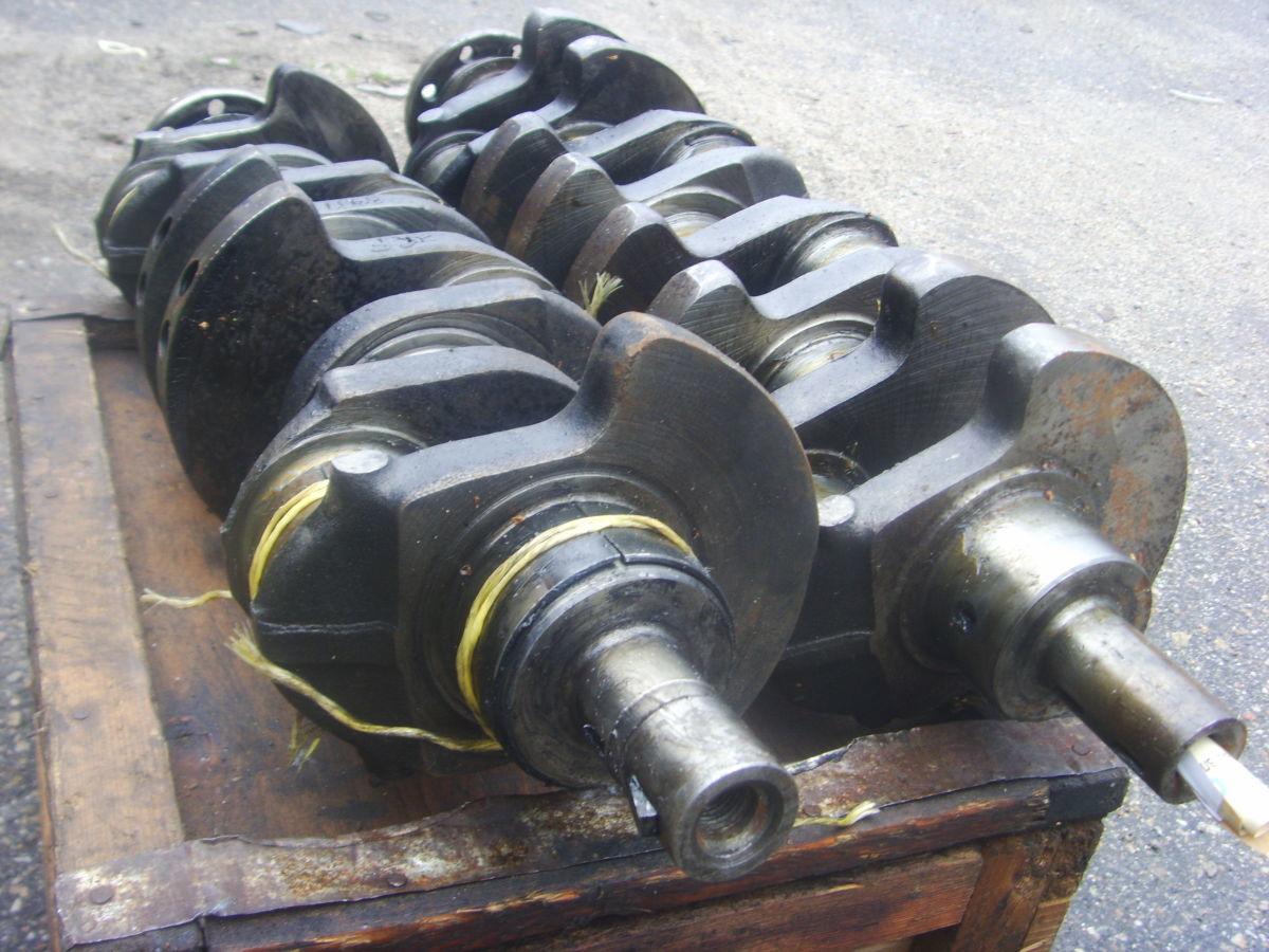 Фото 8 - Ford/Peugeot 2.3-2.5D (XD2, XD2S, XD3, XD3P Diesel) Коленвал рабочий.