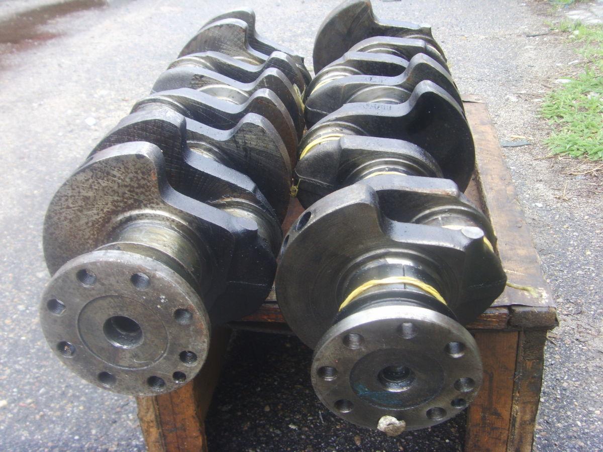 Фото 6 - Ford/Peugeot 2.3-2.5D (XD2, XD2S, XD3, XD3P Diesel) Коленвал рабочий.