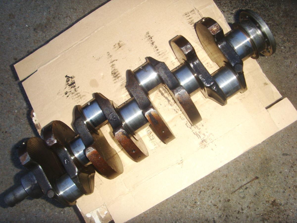 Фото 4 - Ford/Peugeot 2.3-2.5D (XD2, XD2S, XD3, XD3P Diesel) Коленвал рабочий.