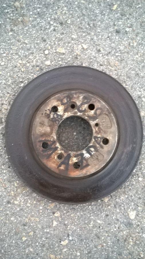 Фото - На Mazda 626 с 88 г.в. на 5 отв. перед. тормозные диски.