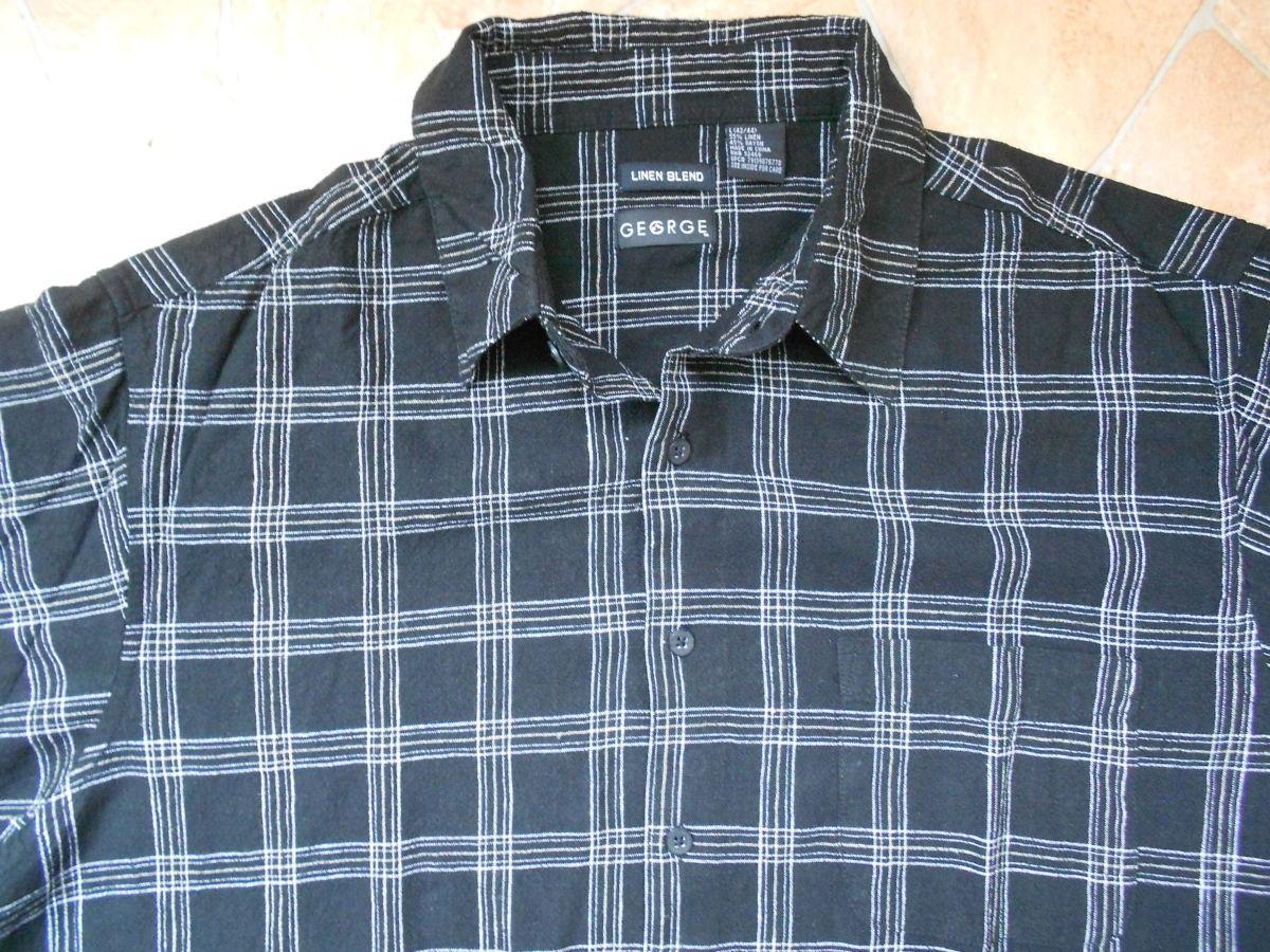 Фото 4 - рубашка George лён размер L