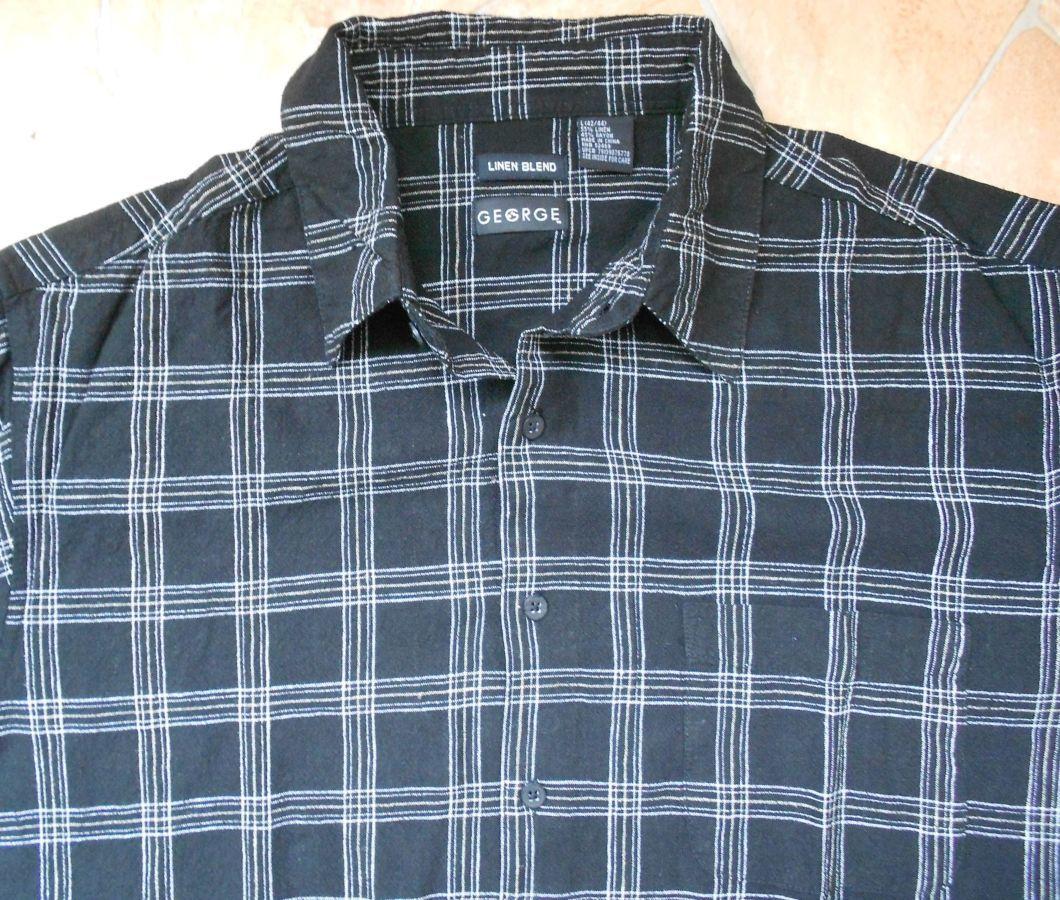 Фото - рубашка George лён размер L