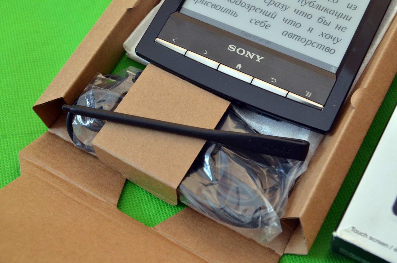 Фото 6 - Электронная Книга Sony PRS-T1 E-Ink Pearl Как новая. На подарок