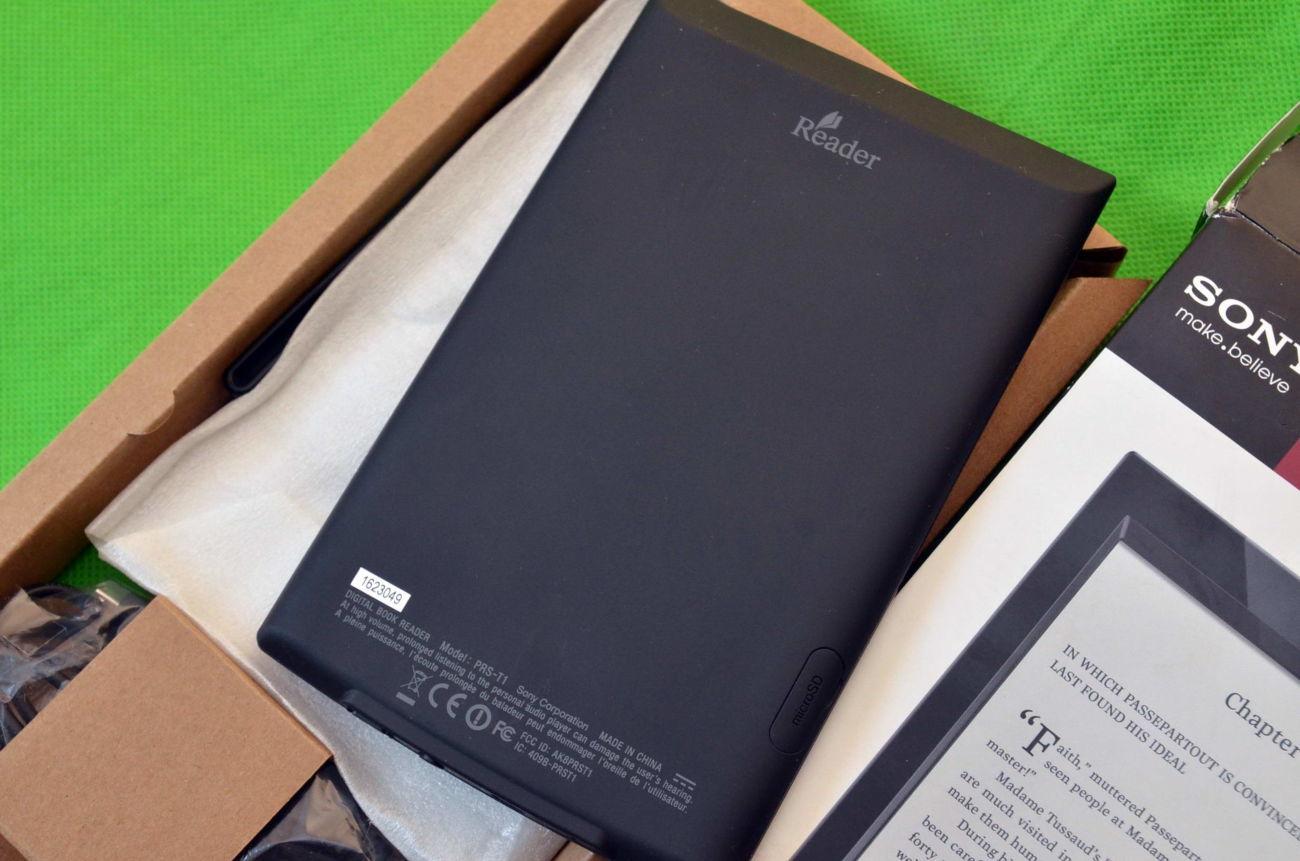 Фото 4 - Электронная Книга Sony PRS-T1 E-Ink Pearl Как новая. На подарок