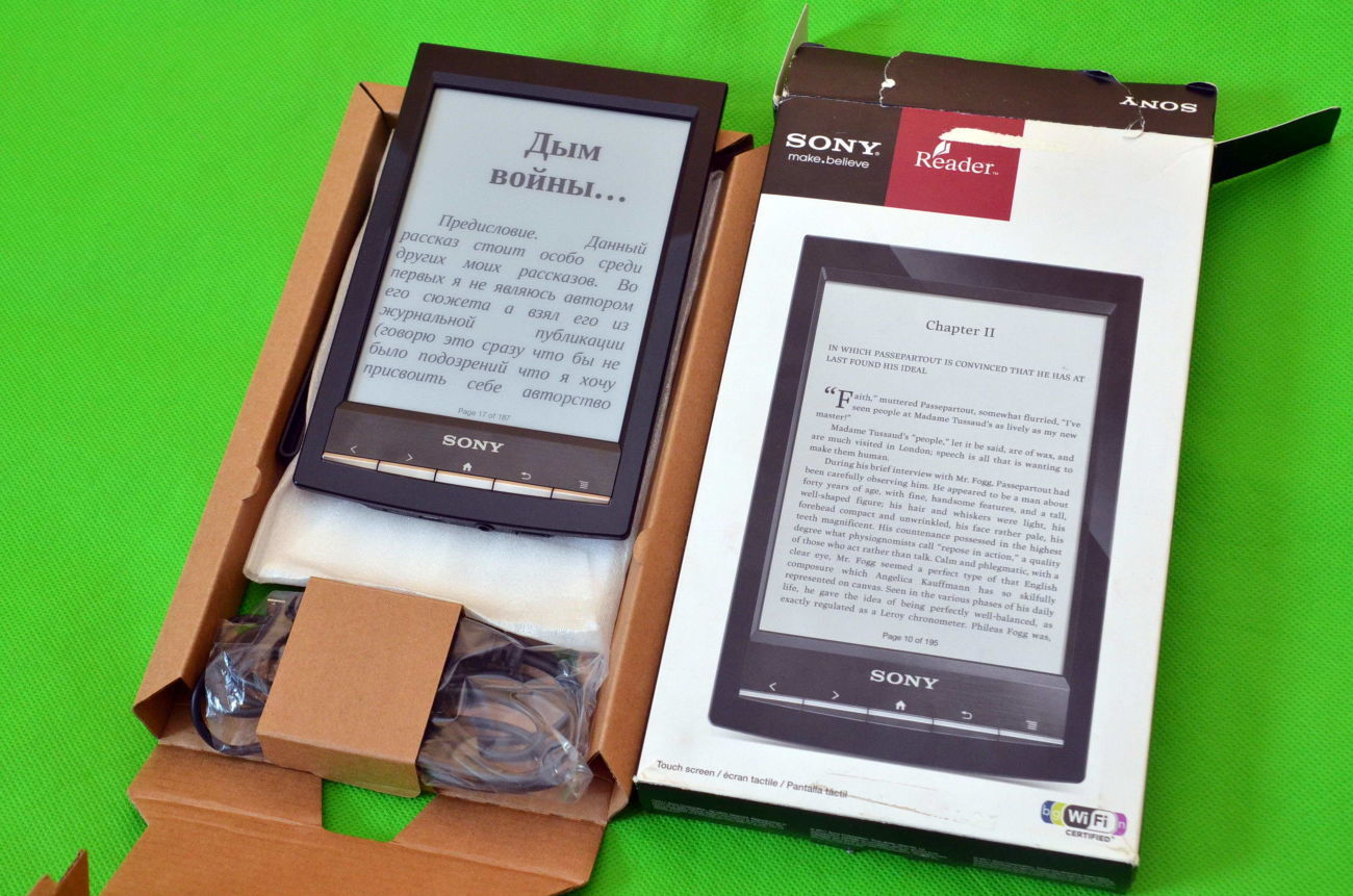 Фото - Электронная Книга Sony PRS-T1 E-Ink Pearl Как новая. На подарок