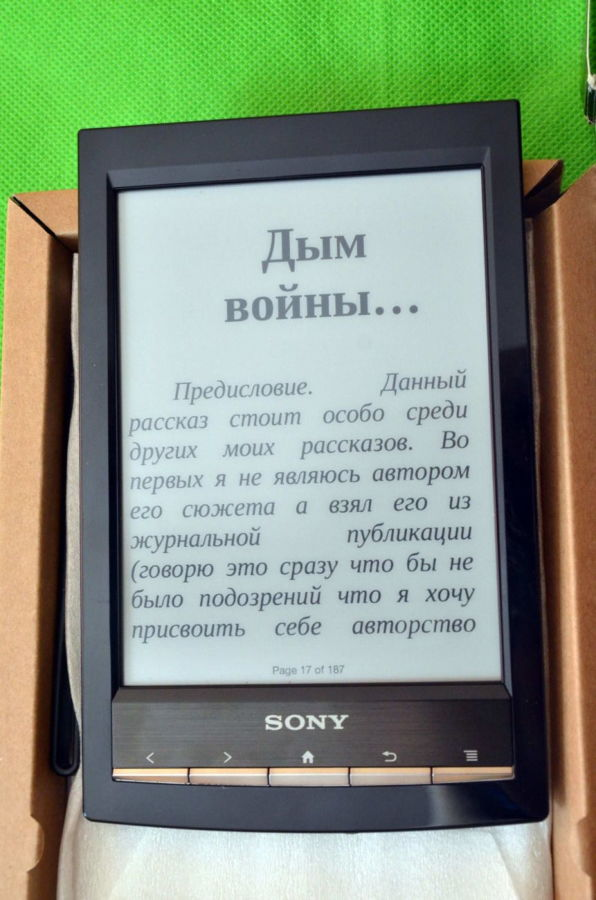 Фото 3 - Электронная Книга Sony PRS-T1 E-Ink Pearl Как новая. На подарок