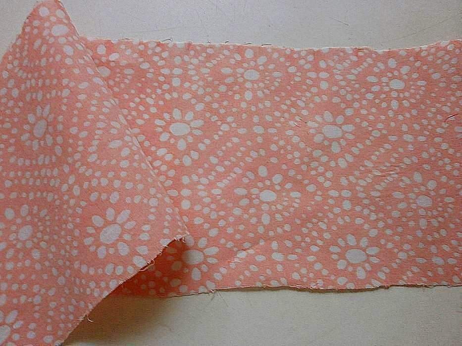 Фото - Ткань хлопок батист светло-розовый с белыми ромбами. For Hand Made