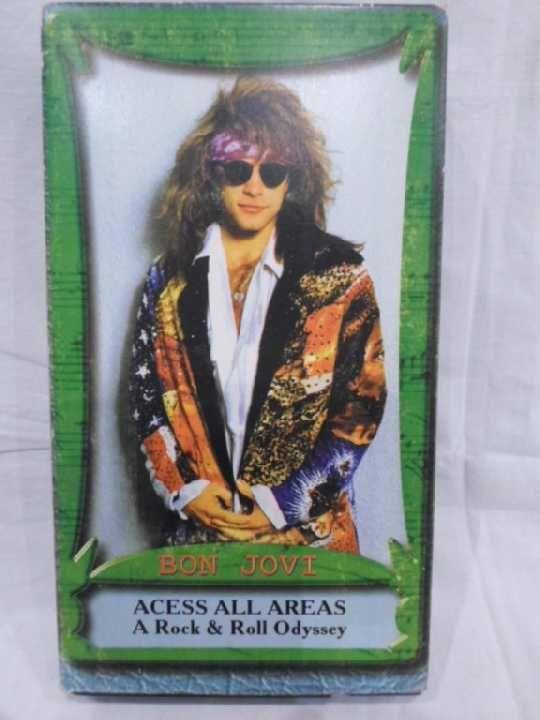 Фото - Bon Jovi (Acess All Areas) 1991. VHS. Видео кассета.