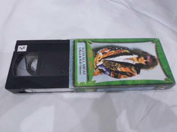 Фото 3 - Bon Jovi (Acess All Areas) 1991. VHS. Видео кассета.