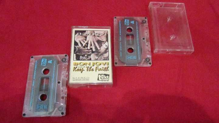 Фото 10 - Bon Jovi (Keep The Faith) 1992. AU. Poland. 2 Кассеты.