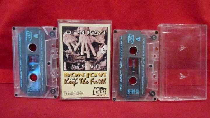 Фото 9 - Bon Jovi (Keep The Faith) 1992. AU. Poland. 2 Кассеты.