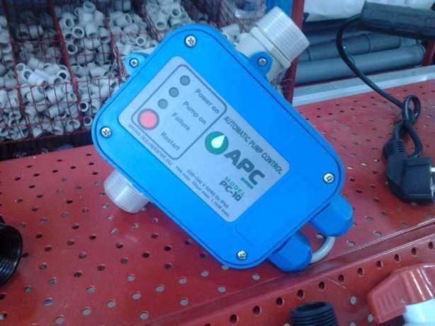 Фото - Автоматика для насосов, эл.контроллер давления, пресс контроль PC-10