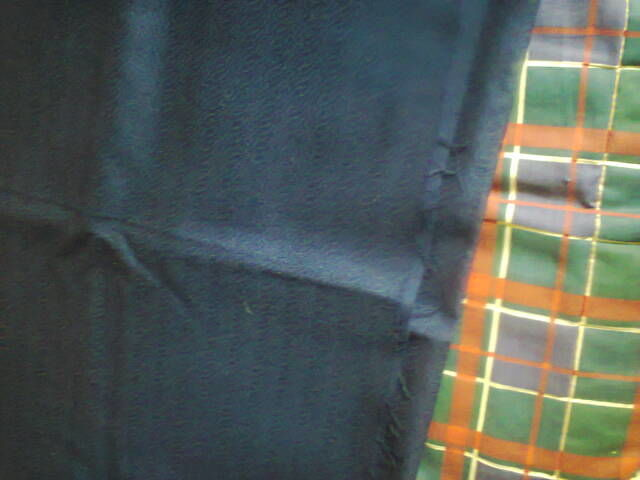 Фото 4 - Ткань темно-синяя.