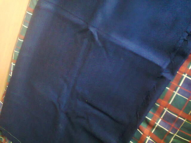 Фото 2 - Ткань темно-синяя.