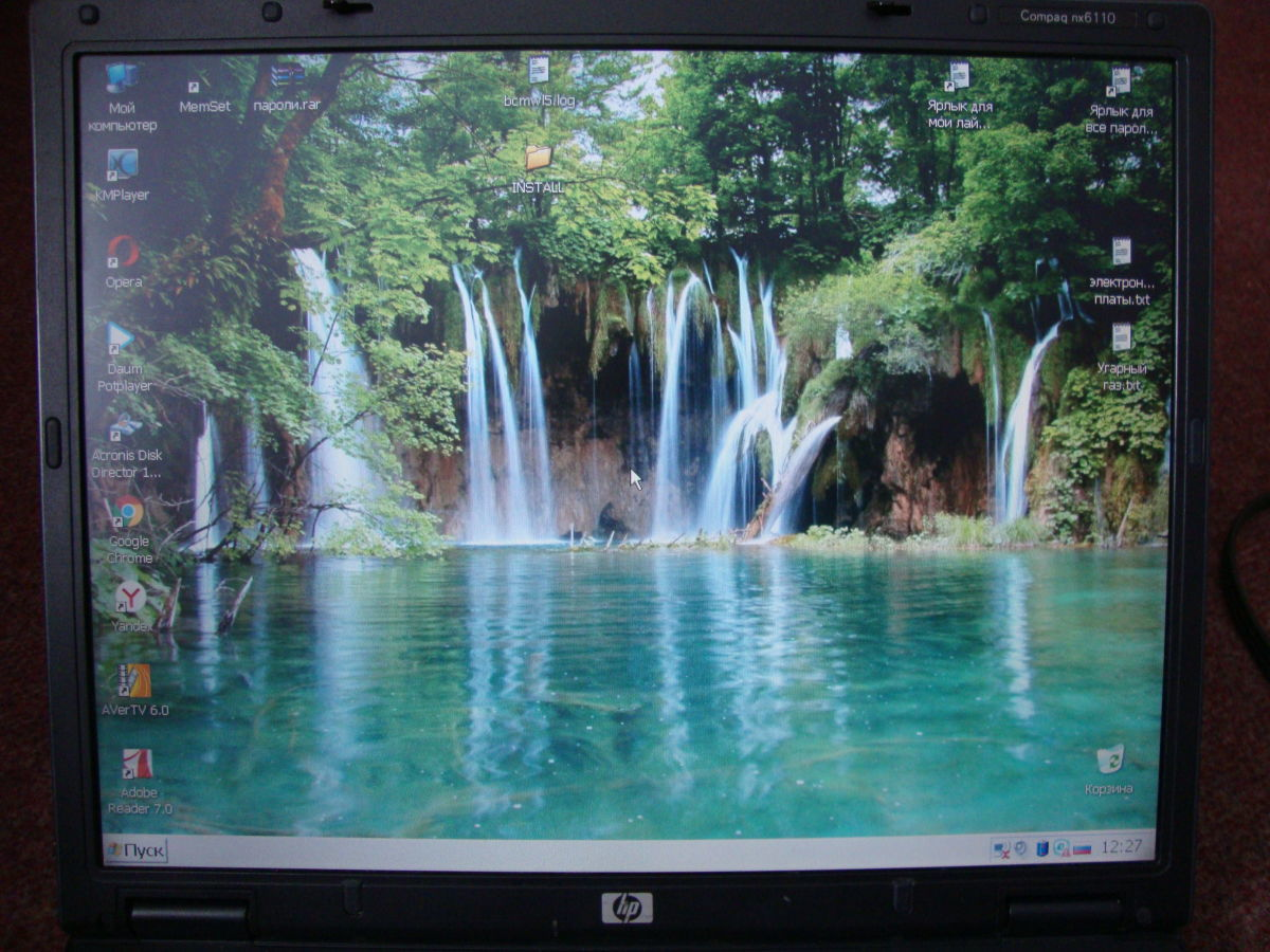 Фото 3 - Ноутбук HP Compaq nx6110