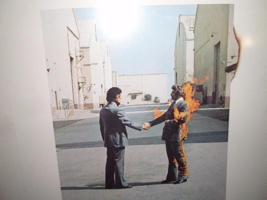 Фото - Виниловая Пластинка PINK FLOYD -Wish You Were Here- 1975 ОРИГИНАЛ