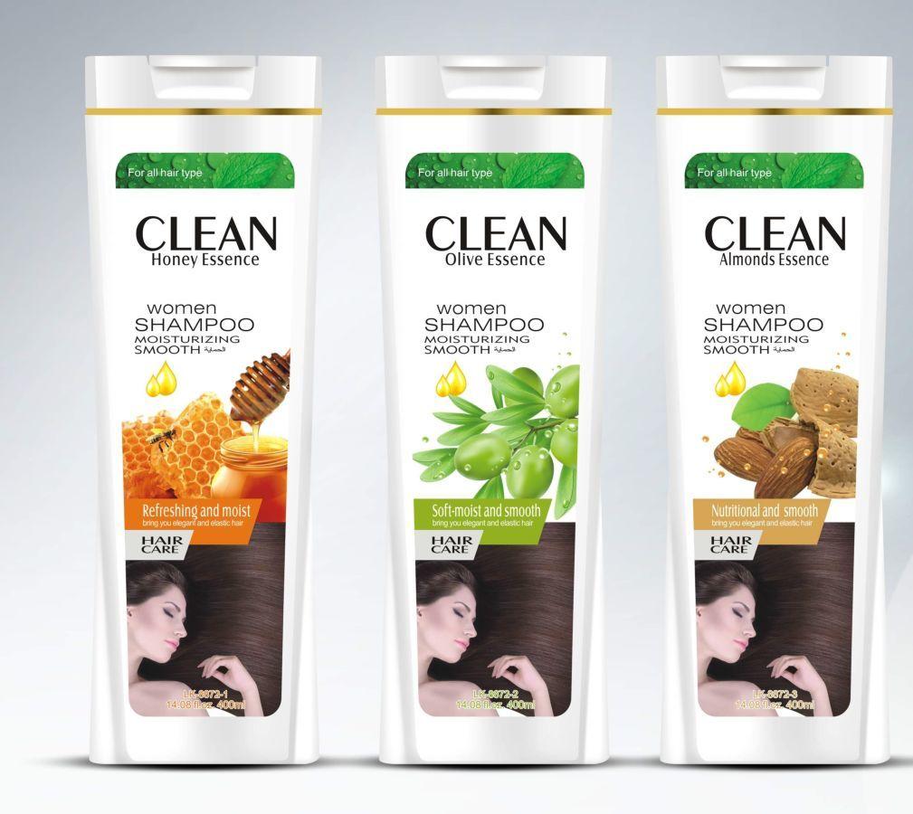 Фото - Clean 400мл шампунь для волос, на основе экстракту оливки
